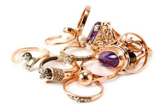 rings of precious metals