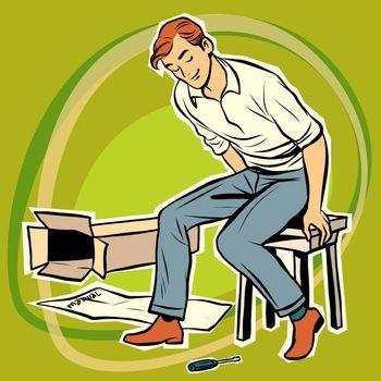 Screwdriver male furniture designer