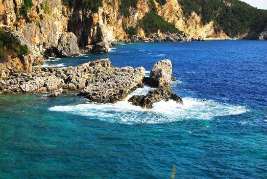 Ionian seaside