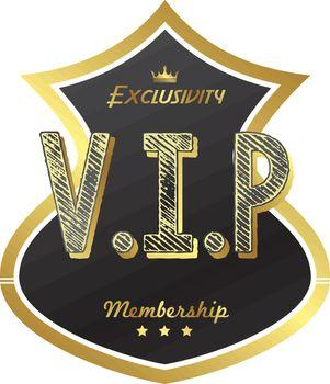 vip member badge