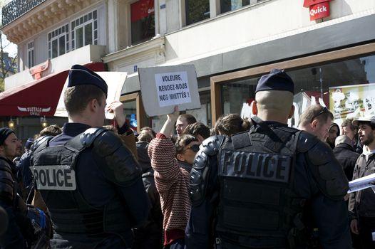 FRANCE - LABOUR - PROTEST