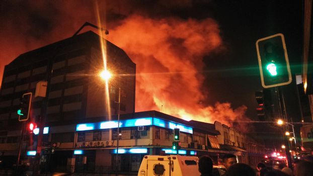 CHILE - FIRE - TEMUCO