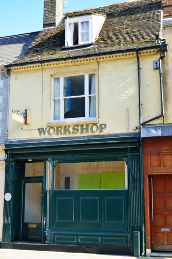 Old workshop in english street