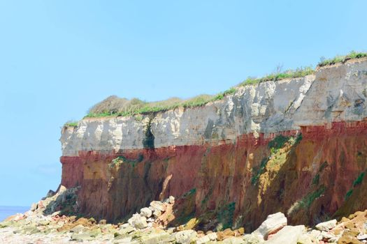 Cliffs at Hunnstanton