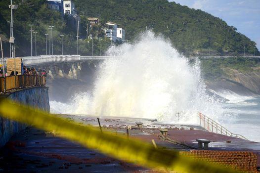 BRAZIL - RIO - ACCIDENT