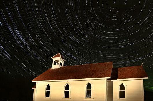 Church Night Shot