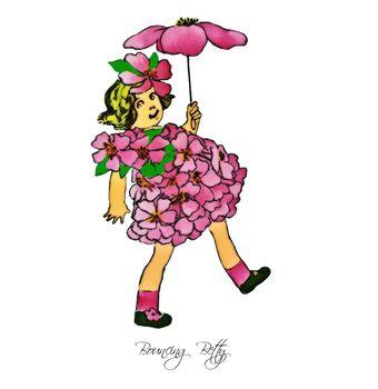 Flower Children Bouncing Betty