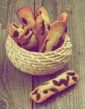 Biscuit Raisin Cookies