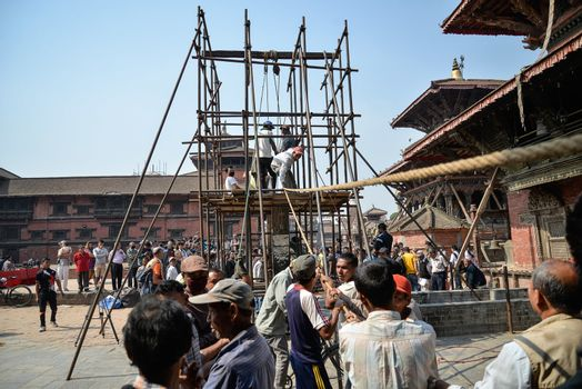 NEPAL - QUAKE - ANNIVERSARY