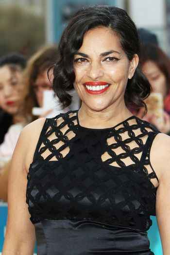 UK, London: Sarita Choudhury attends the UK Film Premiere of 'A Hologram for the King' at the BFI Southbank, in London on April 25, 2016.The film stars Tom Hanks, who plays a businessman on a trip to Saudi Arabia. Also in attendance at the premiere were Christy Meyer, Linzi Stoppard and Megan Maczko.