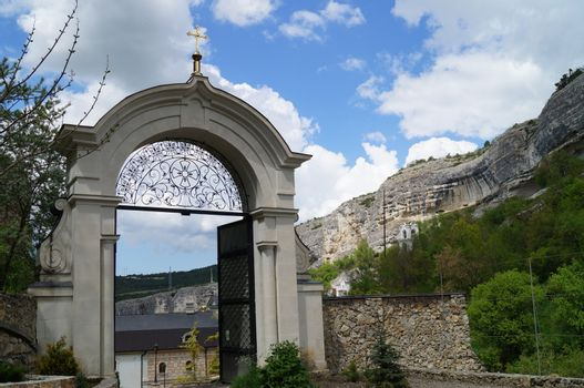 Monastery in Bakhchisarai (Crimea)