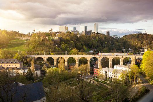 Beautiful view of the Granduchy of Luxembourg