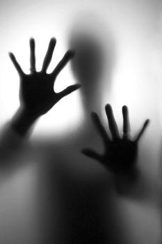 Person in fear