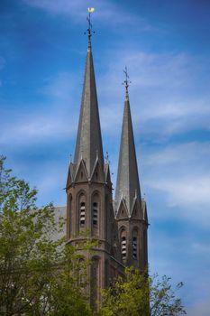 De Krijtberg church in Amsterdam, The Netherlands