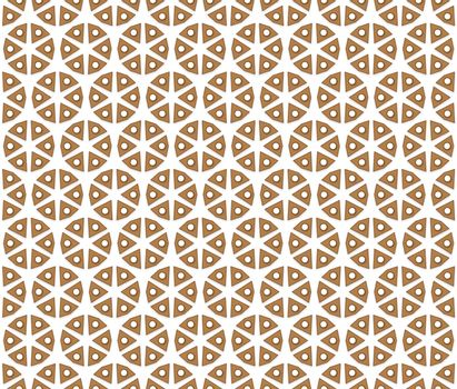abstract textile six triangular pattern