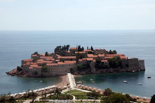 Saint Stephen resort island, Montenegro