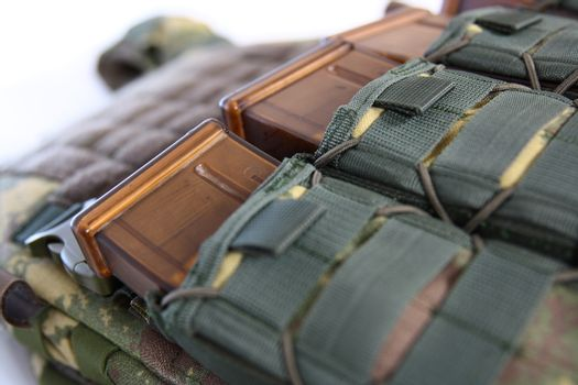 Tactical Vest for army with bulletproof and ammo