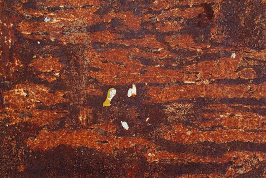 Abstract corroded metal plate texture
