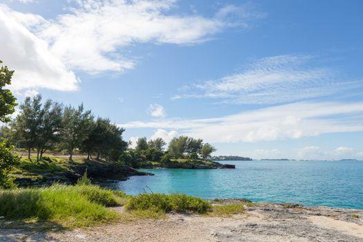 Bermuda Coast Rock Formations