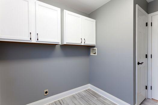 Home Laundry Room Interior