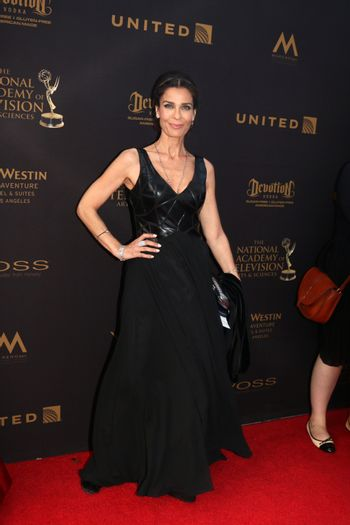 Kristian Alfonso at the 43rd Daytime Emmy Awards, Westin Bonaventure Hotel, Los Angeles, CA 05-01-16/ImageCollect
