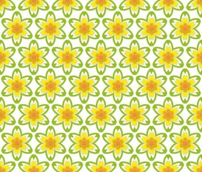 textile summer floral pattern
