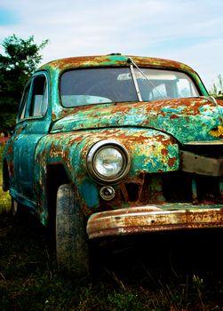 Pimped Rusty Car