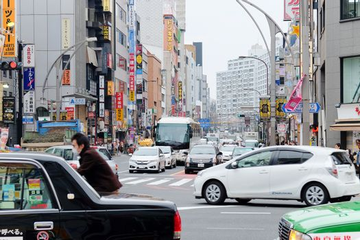 Ueno Hirokoji intersection