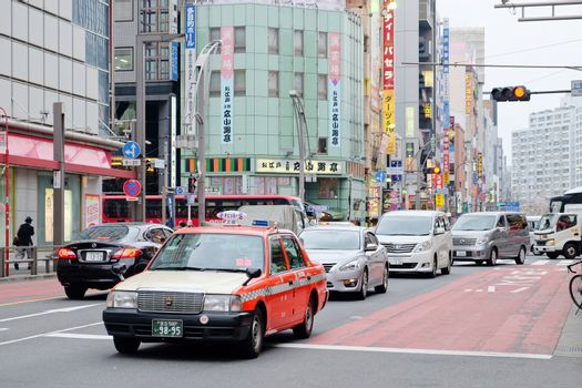 Area in the Ueno Hirokoji intersection