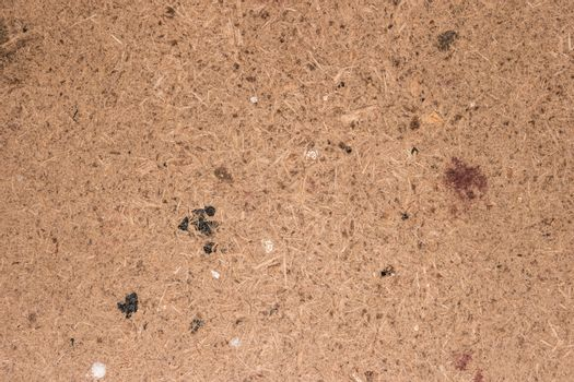 Recycled compressed wood chipboard