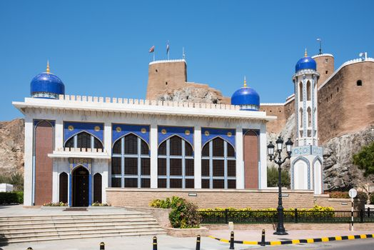 The Khor Mosque in Oman