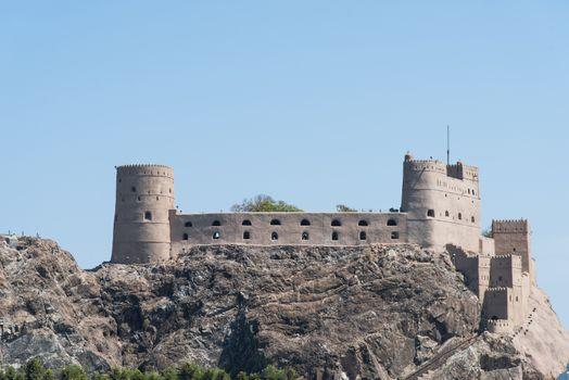 Al-Jalaili Fort in Oman
