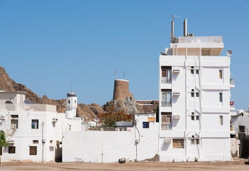 Residential area in Muscat, Oman