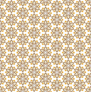 six pointed star flower pattern