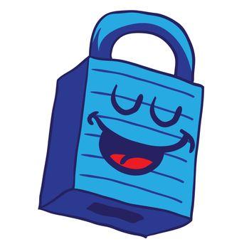 happy blue lock