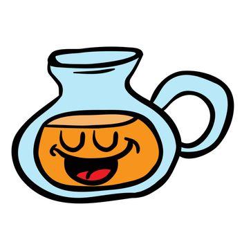 happy lemonade jug