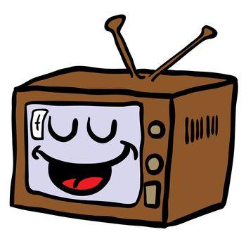 happy retro tv