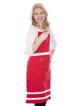 female cook in apron
