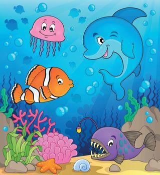 Ocean fauna topic image 1