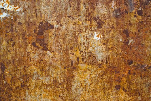 Corrosion texture, steel plate surface