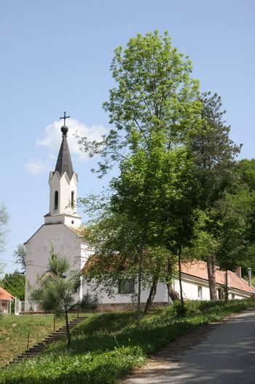 Fan of Holy Mother of God's shroud in village Belanovica in Serbia