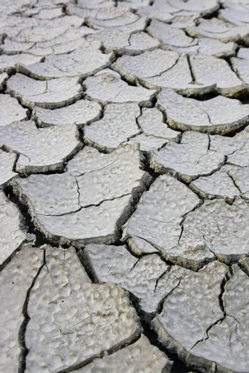 Drought Soil without grass and global warming