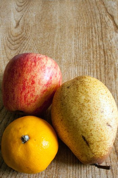 Three fruit