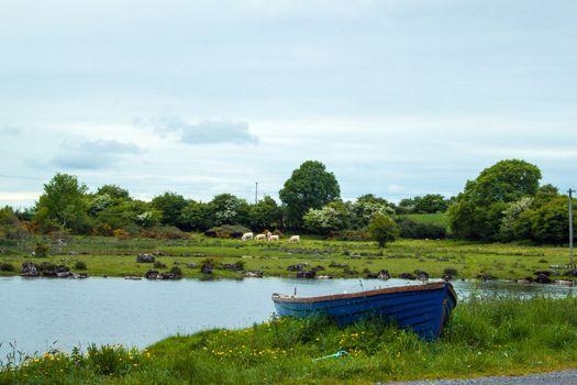 Rowing boat, Lough Corrib