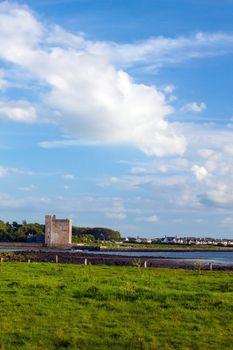 View of Oranmore Castle