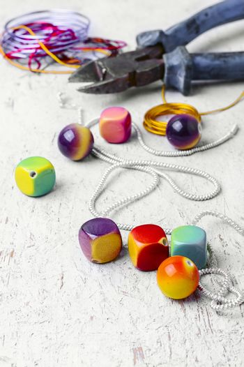 skill of working with beads