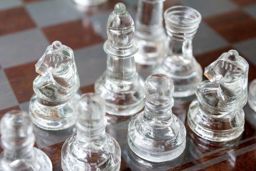 Glowing Chess Set