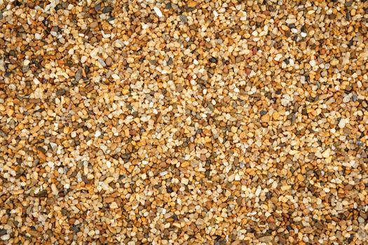 Gravel floor close up background