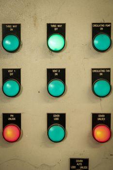 Equipment control of metal industry