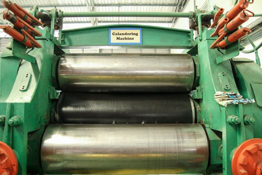 Rolling the Material Machine